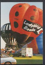 Balloons Postcard - Balloons Over Basingstoke in 1990, Ladybird Books RR2434