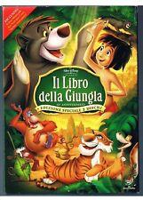 Film Dvd Il libro della giungla(1967)cartone DISNEY con slipcase in rilievo RARO