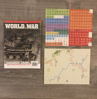 Guards Tank - World at War #13 Unpunched Solitaire Wargame