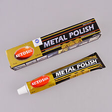 Autosol Solvol Chrome Metal Polish Cleaner Aluminium Car Tube Tarnish Remover