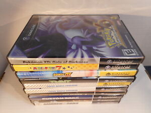 Lot of Ten Empty Nintendo GameCube cases - 4 w/booklets