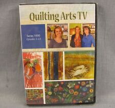 Quilting Arts TV DVD NEW Series 1000 Episodes 1-13 Mixed Media Artists 4-discs