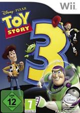 Nintendo Wii WII-U TOY STORY 3 il tedesco come nuovo