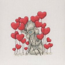 DMC Me to you Hearts Counted Cross Stitch Kit TT228