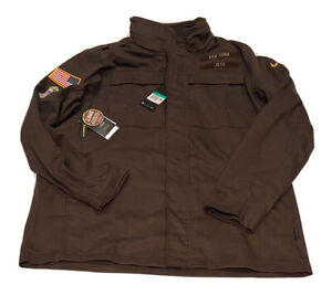 Nike New York Jets Salute To Service Jacket Coat Mens XL On Field Military NFL