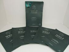 WOLF PROJECT HYDRATING FACE MASK SHEET  FOR MEN 5 MASKS EACH EXP: 4/22   BB 3800