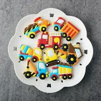 8pcs/set Baby Birthday Cake Decor Cookie Cutters Baking Mold Car Biscuit Mould