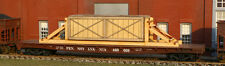 LaserKit American Model Builders  N Scale Kit #525 Crate Flat Car Load BTTG