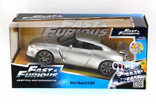 Brians 2009 Nissan GT-R35 Candy Silver FAST AND FURIOUS  1/24 scale