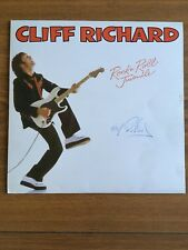 Cliff Richard Signed / Autograph On 1979 Rock'n Roll Juvenile LP Record
