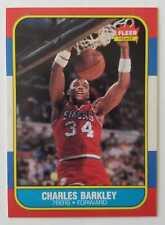 1986-87 Fleer Charles Barkley #7 ROOKIE 76ers PSA?