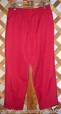 KORET PANTS~Dark Red~Elastic Drawstring~Pockets~Miss Size 16~FREE SHIP