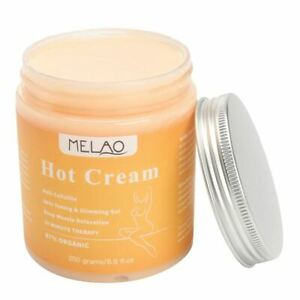 MELAO 250g Anti Cellulite Hot Cream Slimming-Deep Muscle Relaxation Body sl I1D8