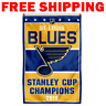 St.Louis Blues 2019 NHL Stanley Cup Finals Champions Banner 3X5FT flag NEW