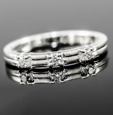 Echt 925 Sterling Silber Ring, Damenring, Zirkonia Steinen