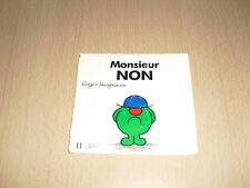"""Monsieur NON   Roger Hargreaves Collection """"Bonhomme"""""""