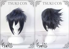 Final Fantasy 15 XV FFXV Noctis Lucis Blue mix Anime Cosplay Costume Wig