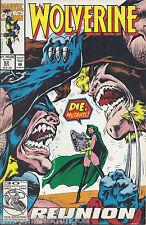 Wolverine Marvel Comic October 1992 #62