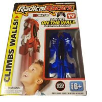 Radical Racers Remote Controlled Wall-Climbing Car As Seen on TV Brand Blue.