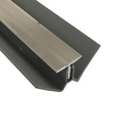 8mm CHROME METAL INTERNAL CORNER TRIM for Shower Wall Panels Wet Wall Cladding