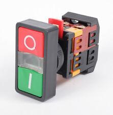 Tasterkombination Motorschalter Maschinenschalter 230V mit Leuchtmelder [#1180]