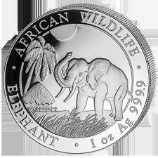 1 onza de plata somalia elefante 2017 bu
