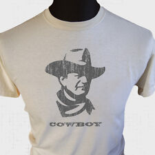 Cowboy T Shirt John Wayne Western Wild West Gunslinger Legend Icon Cool Cult Tee