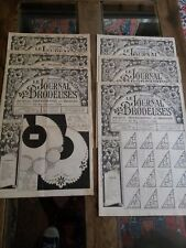 6 ANCIENS JOURNAUX LE JOURNAL DES BRODEUSES 1953 VINTAGE EMBROIDERY PATTERNS