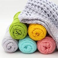 Sale Skeins 100g Soft Yarn cotton velvet Chunky Super Bulky Hand Knitting wool