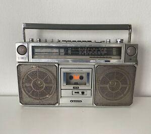 Vintage Sanyo M9975LU Stereo Radio Cassette Recorder Boombox Ghetto Blaster