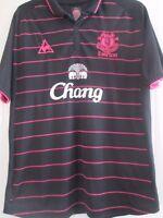 Everton 2009-2010 Away Football Shirt Size Extra Large XL /41795
