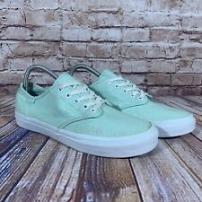 Vans Mandala Low Top Sneakers Mint Green Womens Size 10 Shoes 721356