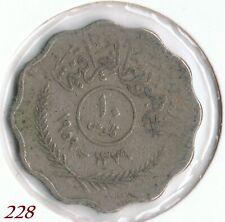 Iraq , Irak 10 Fils 1959 Münze Coin / 228