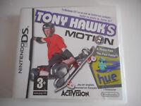 JEUX NINTENDO DS - TONY HAWK'S MOTION - COMPLET