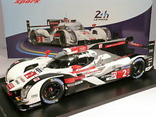 Audi R18 #2 Lotterer Fassler Tréluyer Winner Le Mans 2014 - SPARK 1/18 (18LM14)
