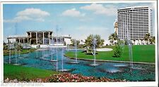Huge Dunes Hotel & Casino Country Club Vintage Jumbo Postcard Las Vegas Nevada t