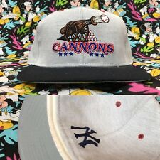 VTG PRINCE WILLIAM CANNONS Minor League Fitted 7 3/8 Hat Baseball Wool Yankees