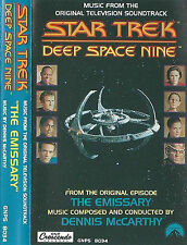 STAR TREK DEEP SPACE NINE EMISSARY MCCARTHY CASSETTE ALBUM TV SOUNDTRACK