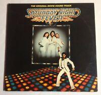 "SATURDAY NIGHT FEVER Soundtrack 2LP 12"" Vinyl Record VG+/VG+ RSO RS-2-4001"