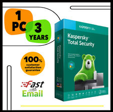 Kaspersky Total Security Antivirus 2020 - 1 PC Device 3 YEAR - GLOBAL LICENSE