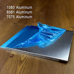 Aluminium Sheet Plate 1060 6061 7075 Alu Board | Thick 1mm-6mm | Various Sizes