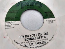 Millie Jackson 45 How Do You Feel the Morning After 70s Soul Funk NM-/VG++