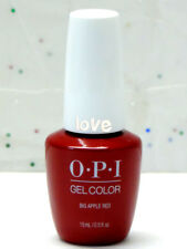 OPI GelColor New Gel Nail Polish Soak-Off N25- Big Apple Red