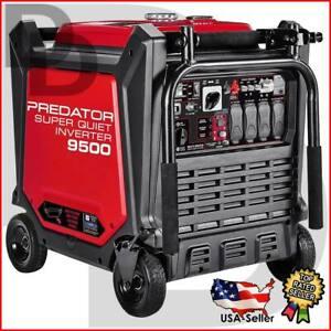 9500 WATT 67 Decibal INVERTER Generator 120/240 ⚡ELECT START⚡ US/CANADA/AK/HI/PR