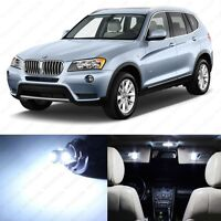 14 x Error Free White LED Interior Light Package For 2011-2014 BMW X3 Series F25