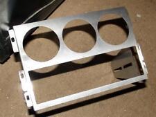 Spazio pannello, 2.5-din, per 3 x 52mm GHIERE & Radio, S / S, MAZDA MX-5 MK1 MX5, JDM