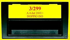 PHONOCAR Mascherina adattatore autoradio 3/299 AUDI A4 DOPPIO ISO DIN SINPHONY