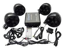 motorcycle shark SHKC6800 1000w  4ch audio system w/ 2 remotes,FM, SD,USB black