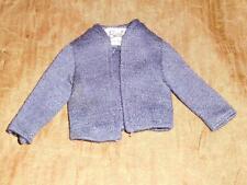 """Vintage Barbie """"Commuter Set"""" #916   (R ) Navy Blue Knit Sweater Jacket"""