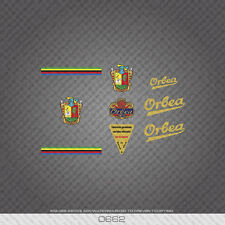 0662 Orbea Bicycle Frame Tube Stickers - Decals - Transfers - Gold